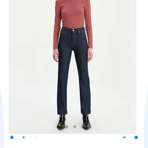 Women's 501 button fly jeans